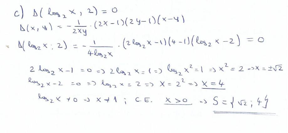 Rezolvare Simulare BAC Matematica Clasa A 11 A- Subiectul